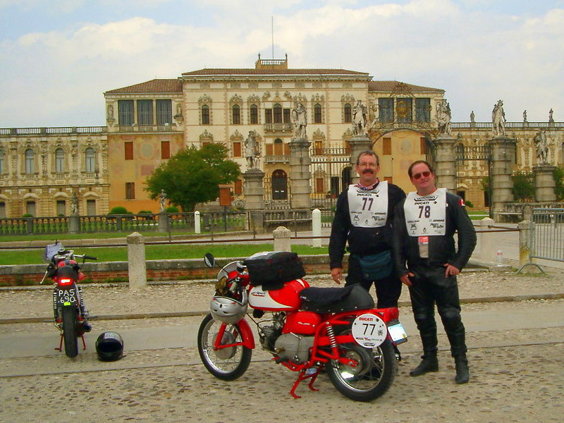 Motogiro. Jim and Rick. I was just learing to take photos but I had figured out backgrounds were important....