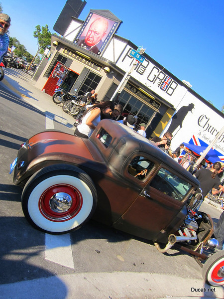 What's a swap meet without a hot rod?