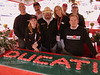 Desmohio DOC Ducati owners club. That's Terry on the left, she baked the cupcakes and they were every bit as good as they look. Desmohio is just one of the many great owners clubs that get  involved weekend after weekend.  What a great group of folks.