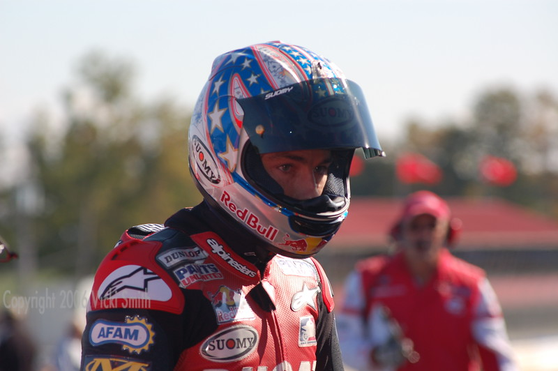Ben Bostrom. World famous, well liked and fast. This is also his last weekend on the Parts Unlimited Ducati.