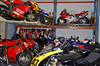 Moto Corse is primarily a race shop and the customer bikes in residence give you a pretty good idea of just how serious a performance shop Moto Corse is.