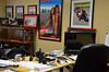 Chris's office