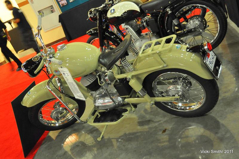 160 Mondial Sogno, restored in Italy