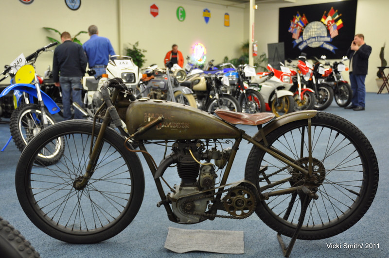This 1929 Harley Peashooter, named for the popping sounds their exhaust makes, had beautiful original patina as a result of being virtually untouched from the day it left the factory. With well documented history,   it brought $100,000, plus the 17.5% auction premium Bonhams charged, but that was well under the estimated hammer price of $125,000 - $150,000.