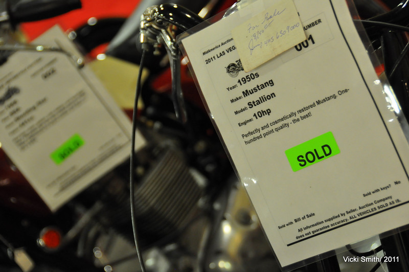 The sold line got longer and longer, by the end of the weekend.  Roughly 500 bikes were registered for sale at MidAmerica and a high percentage were sold