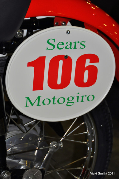 Here's a cute bike with a bit of Hollywood added (Sears wasn't really where the Itlaian Motogiro hero's went shopping in the 1950's, lol)