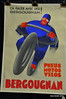 This 1930's art deco tire poster was featured in the catalog.  It was in beautiful condition and brought more than the estimate, almost $3800 (including Bonhams buyers premium or 17.5%)