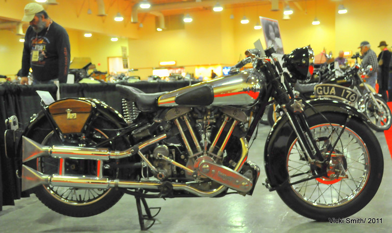 The real rare air sourrounds bikes like this Brough.