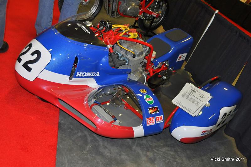 Honda Sidecar racer