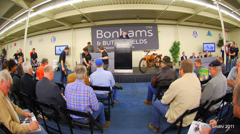 Bonhams was first on the tour.