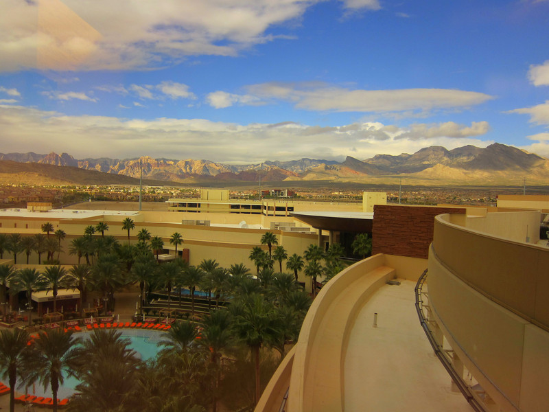 Las Vegas as seen from the Red Rock Hotel, home of the AMA Hall of Fame 2012