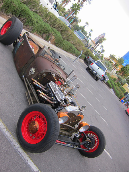 What would a trip to Vegas be without some cool American Style Hot Rods?