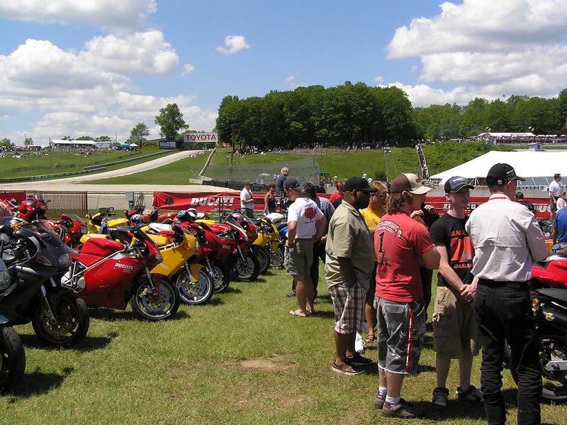 Ducati, Ducati, and more Ducati...