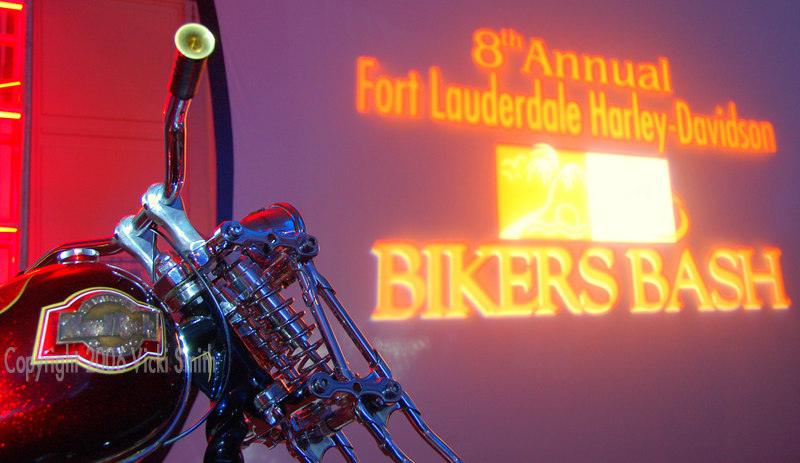 Friday night we return to the Seminole Hard Rock for the Bikers Bash