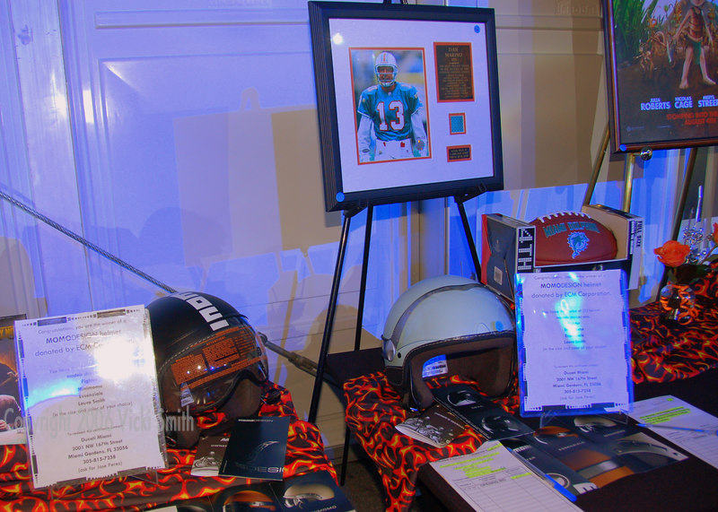 From top of the line Momo Helmets to sports memorabilia and even SuperBowl tickets, there was something to interest just about everybody