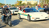 Broward County Corvette Squad car