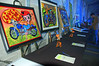 A lot of the art featured was done by the kids in the Boys and Girls Club