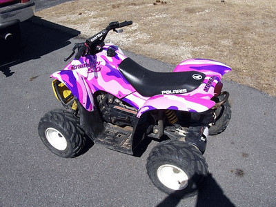 Motorcycles and ATV Wraps
