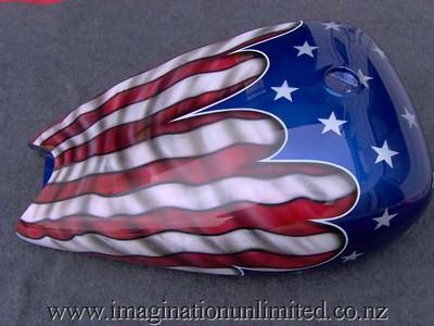 american flag bike - 2