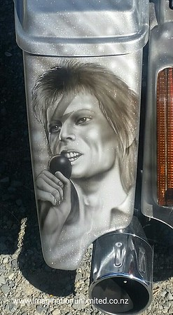 David Bowie Harley Davidson