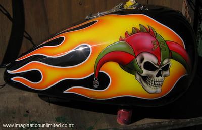 Jokers Flame job bike