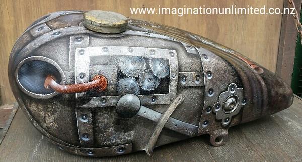 Steampunk tank