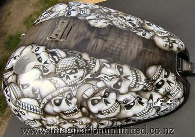 total skulls bike