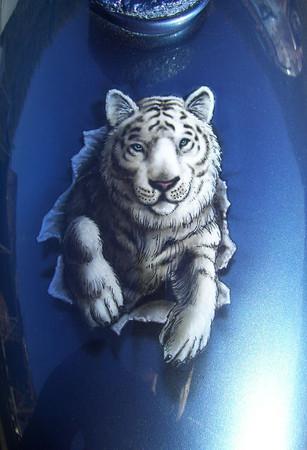 Triumph Tiger Cub tank