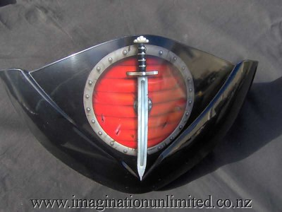 triumph fairing-sword and shield