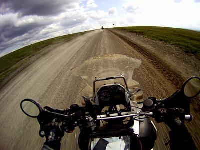 Chasing Rick on the Dalton Hwy.