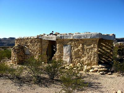Old Terlingua home.