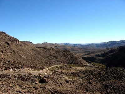 Road to Presidio. :)