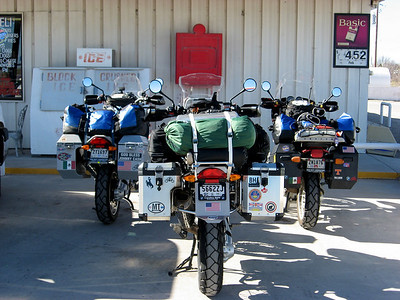 2 R1200GS's and a R1100GS