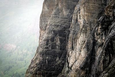 Raining at Black Bear Pass