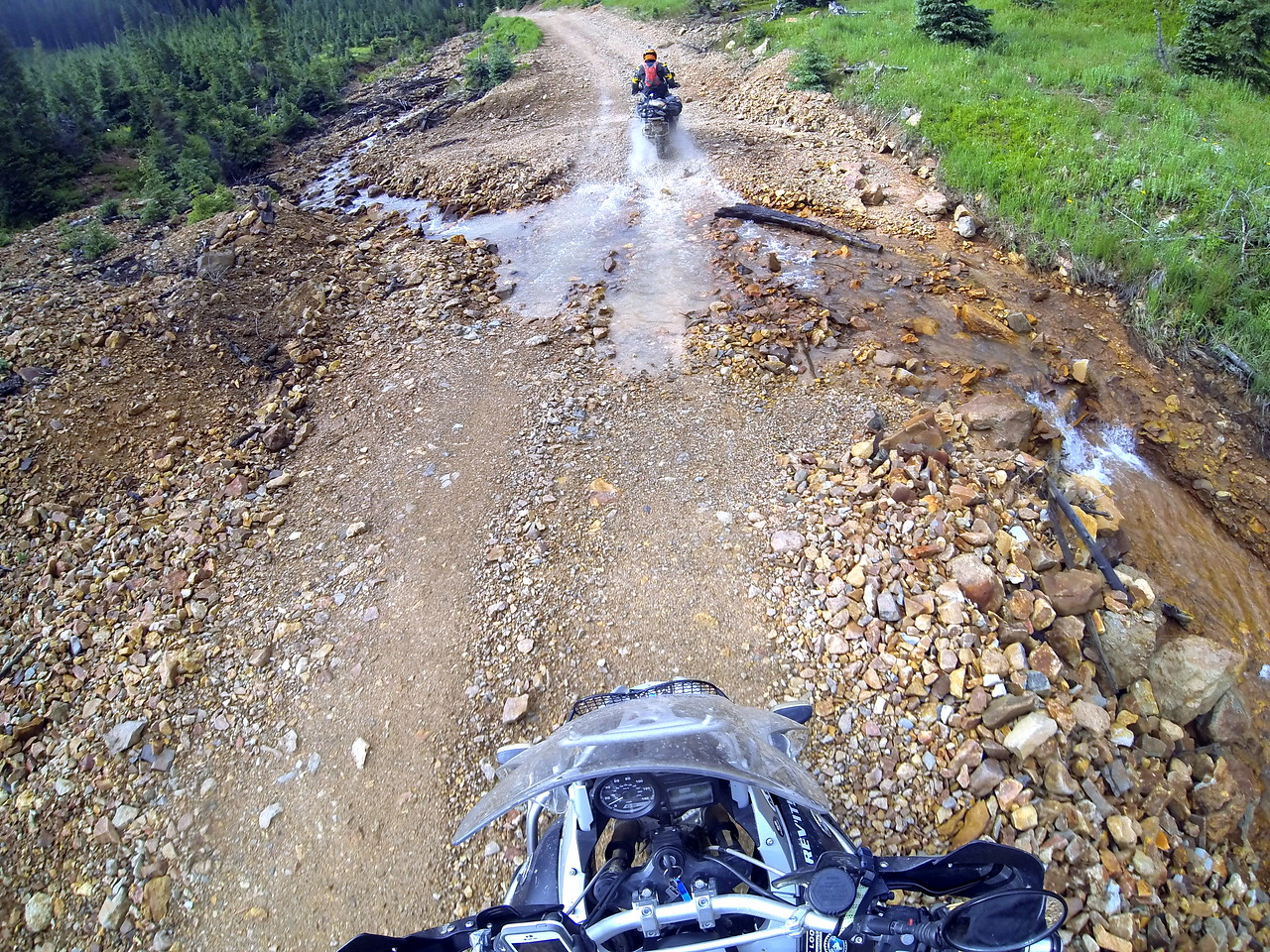 Puddle crossing - CO