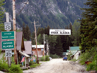 Hyder, AK. One of the highlights of the trip.