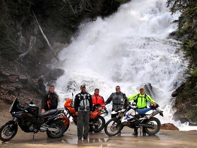 Skalkaho Falls.    .