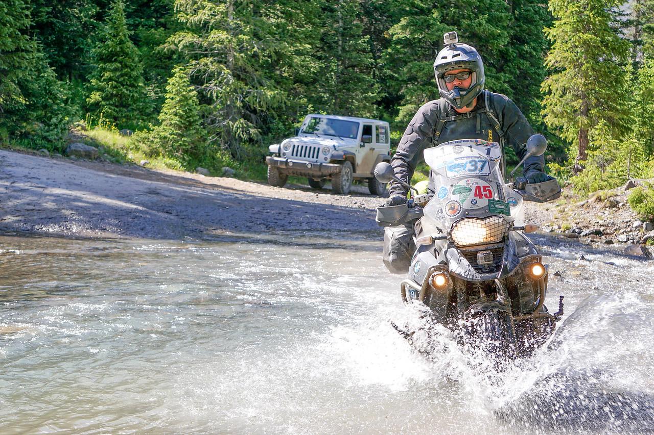 Colorado water crossing