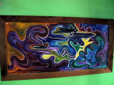 Dan and Debbi daughters artwork. Very cool!