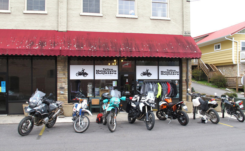 "Tellico Motorcycle Outfitters  @ <a href=""http://www.tellicomoto.com/"">http://www.tellicomoto.com/</a>"