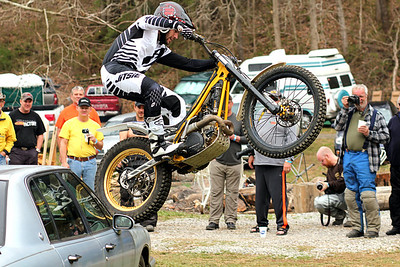 Twisted Throttle Trials Bike Demo