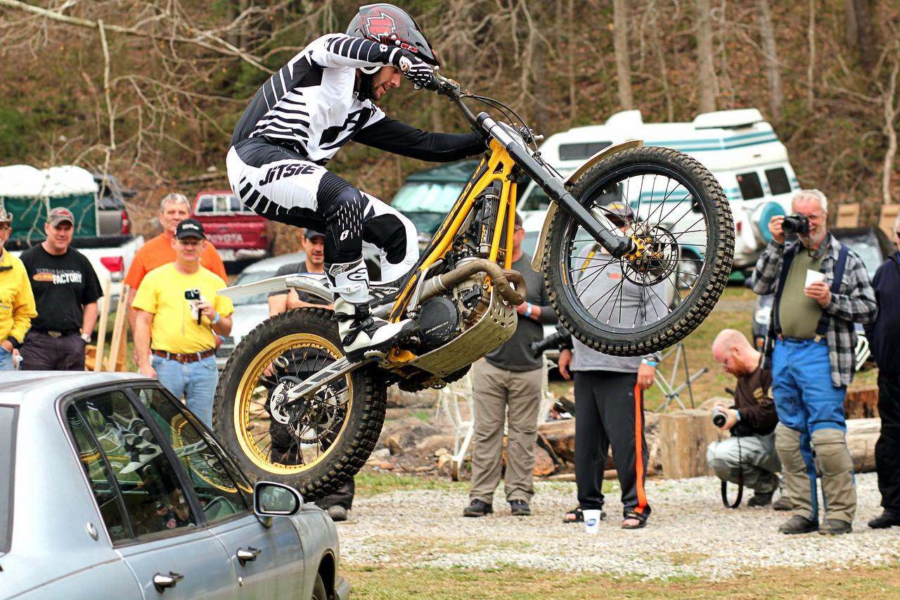 Twisted Throttle Trials Bike Demo