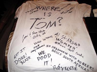 2009 Alaska Trip. No Tom.