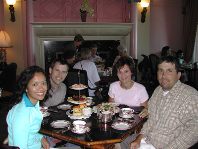English tea and cakes in Victoria.