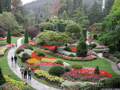 Pacific northwest great climate for flower gardens
