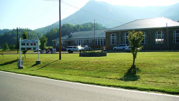 Old Spring Creek school