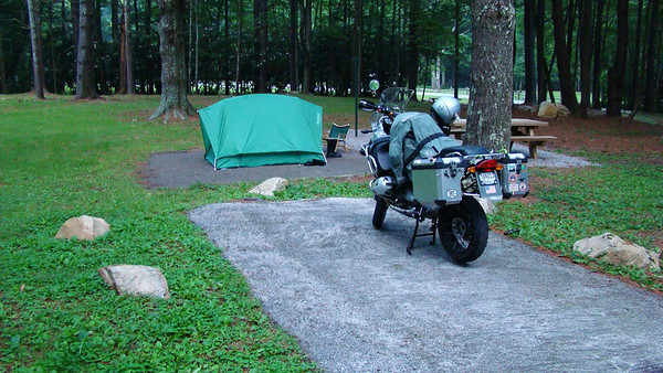 Racoon campground at MT. Rogers,VA
