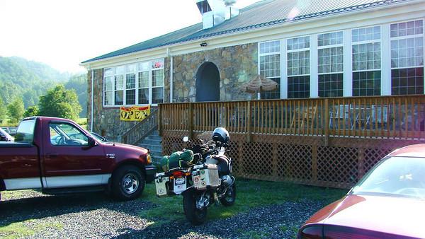 Grits Diner at old Spring Creek school