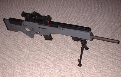 HECKLER & KOCH SL8  WITH IOR OPTIC & PARKER HALE TYPE BIPOD