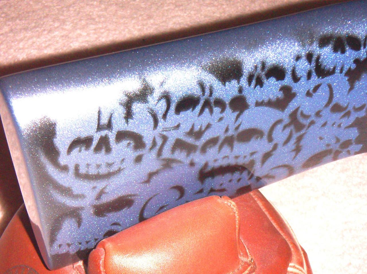 "LV RIFLE - STOLLE PANDA ACTION - KRIEGER BARREL - 6PPC SPEEDY GONZALES ""SPIDER WEB'ED"" BARREL"
